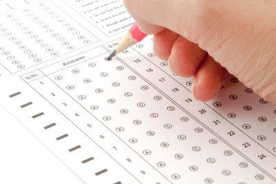 Multiple choice test paper | The Good Schools Guide